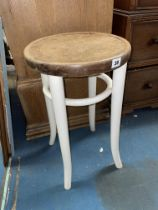 BENTWOOD PAINTED STOOL