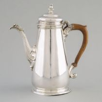 George II Silver Coffee Pot, Gabriel Sleath, London, 1744, height 9.3 in — 23.7 cm