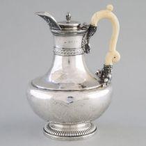 George III Silver Hot Water Pot, Paul Storr, London, 1813, height 9.3 in — 23.7 cm