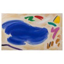 Paul Alexander Fournier (B.1939), DANCE AROUND BLUE, Acrylic on canvas