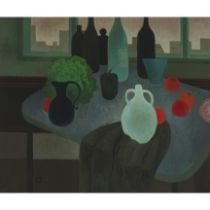 Morwenna Thistlethwaite (1912-2000), STILL LIFE, Oil on canvas; signed with monogram lower left, 29.