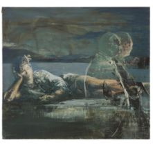 Tony Scherman, R.C.A. (B.1950), UNTITLED, 1988, Encaustic on canvas; signed and dated '88 to the ove