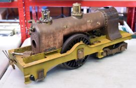 A part built 5 inch Gauge live steam 'Princess of Wales' to the design of Martin Evans, based on the