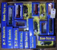 20 Base Toys/B-T Models. Thames Trader, British Railways. AEC Coach, London Coaches. Dodge Tipper in