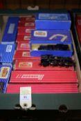 A quantity of Hornby-Dublo Railway. BR 4-6-2 tender locomotive 'Duchess of Montrose' RN 46232. 3x