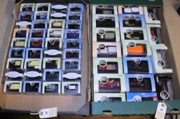 A quantity of Oxford Commercials and Cars. Most 1:76 scale. Including Austin Taxi, Land Rover,