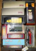 10 Various Makes. 3x unusual limited issue Ruby Toys English made die-cast models- A Leyland TD