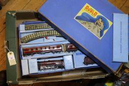 2 Hornby Dublo 3 rail train sets. A Passenger Train EDP2 comprising 4-6-2 locomotive and tender
