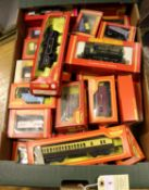 40x OO gauge model railway by Hornby and Tri-ang Hornby. Including 2x locomotives; a GWR Class