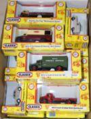 21 Classix by Pocketbond 1.76 scale. 5x British Railways vehicles - 2x Jensen Jen-Tug Mechanical