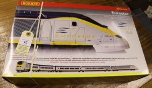 Hornby Railways Eurostar Train Pack. R2379. Comprising 373 power driving unit, dummy driving unit