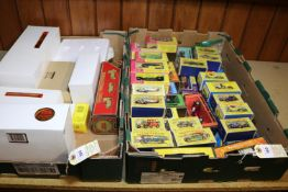 A quantity of Matchbox Yesteryear, assorted eras. 14 of the earlier series in Matchbox style boxes