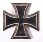 A 1939 Iron Cross 1st class, of non ferrous one piece construction. GC £40-60