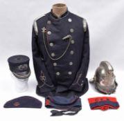Calcutta Fire Brigade: items of uniform etc relating to Robert Clare, Chief Engineer of the Calcutta