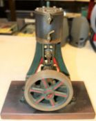 A very substantial Single Cylinder Vertical Engine. A well constructed and detailed model