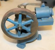 A 4 inch scale (Size B4) working model of a Robinson Hot Air Engine. A well constructed model from