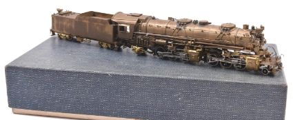 A United Scale Models, by Atlas Industries Japan, HO gauge US outline locomotive. A well detailed