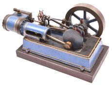 A substantial Single Cylinder Horizontal Engine. A well constructed and detailed model constructed