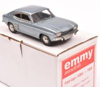 An Emmy Models Mk.1 Ford Capri 1300. Produced by Kenna for this Swiss based Company, this Limited