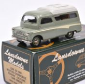 Lansdowne Models LDM.33 1960 Bedford Dormobile 'Romany-De Luxe'. In 'Lime Green' (pale green) with