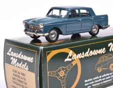 Lansdowne Models LDM.6C 1961 Austin A110 Westminster. In 'Persian Blue' with light blue interior, '