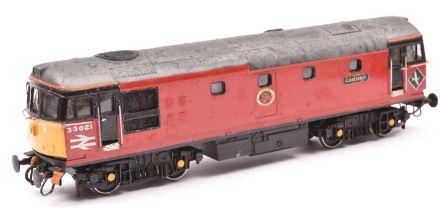 2x coarse scale O gauge Lima locomotives. A model of a S&DJR Class 4F 0-6-0 tender locomotive, 60,