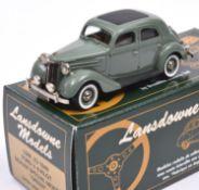 Lansdowne Models LDM.X3 1948 Ford V8 Pilot. A 'Dealer Special Model' in light green with tan