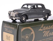 Lansdowne Models LDM.5 1957 Rover P.4. In dark grey with light grey interior, 'LDM 5' number plates,