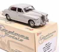 Lansdowne Models LDM.60 1954 Wolseley 6/90 Series I. In 'Mist Grey' with maroon interior, 'VWL
