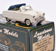 Lansdowne Models LDM.7B 'Ivory' 1956 Ford Zephyr Six Convertible-De-Ville. In cream with cream
