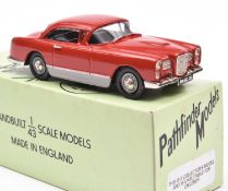 Pathfinder Models PFM.CCI 1960 Facel Vega HK500. Limited Edition 149/600 produced In red with dark