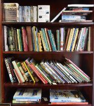 Approximately 100 Transport Books. Publishers include David & Charles, Bradford & Barton, Ian Allan,