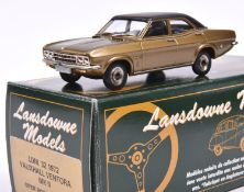 Lansdowne Models LDM.32 1972 Vauxhall Ventora MkII. In metallic bronze with black roof and interior,
