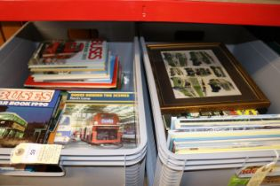 Approximately 50 Bus and Commercial Vehicles related books. Publishers including- Capital Transport,