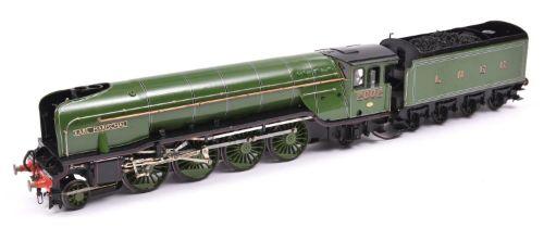 A finescale O gauge kitbuilt model of an LNER Class P2 2-8-2 Mikado tender locomotive, Earl
