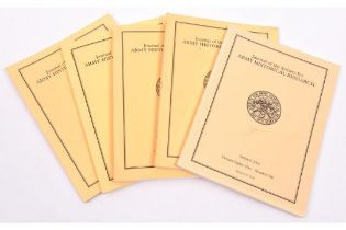 """""""Journal of the Society for Army Historical Research"""", a large quantity, circa late 1990s to 2010,"""