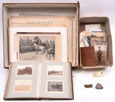 A small archive of material relating to members of the Wybrow family, who served in the Boer War,
