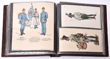 Over 80 well executed original water colour drawings, mostly of late 19th and early 20th century