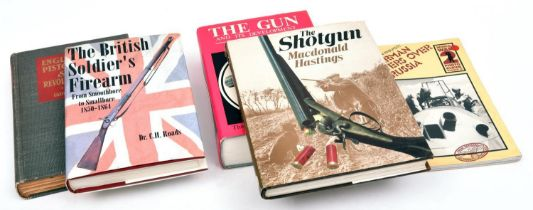 """""""The British Soldiers Firearm"""" by C H Roads, 1994 reprint; """"English Pistols and Revolvers"""" by J N"""