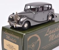 Lansdowne Models LDM.8 1954 Triumph Renown Saloon. In metallic gun metal grey with deep red