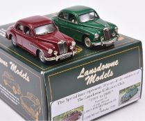 Lansdowne Models 2 Car Set. 'This Special Issue represents 10 years of the existence of The