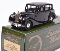 Lansdowne Models LDM.X1 1954 Triumph Renown Saloon, 'Dealer Special'. In black with brown