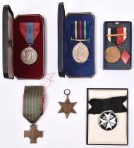 Order of St John, serving sister breast badge, 5th type (un-named), VF. ISM, EIIR issue (Dorothy