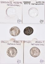 Roman AR antoninianii (4): Gordian III (238-244), rev Iovi Statori; Philip I (244-249) rev with