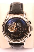 A Zenith El Primero Automatic Chronomaster watch with automatic self winding mechanism. With