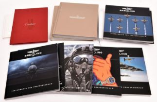 24x watch catalogues, etc. 8x Breitling including; Chronolog 2009, 2012, 2013, 2014, 2015, Pure