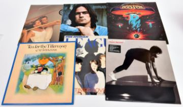 """100+ 12"""" vinyl records of mainly 1960s/70s/80s mainstream rock and pop, plus classical and jazz,"""