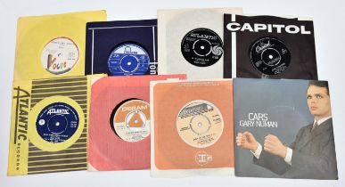 """150+ 7"""" vinyl singles of mainly 1960s/70s/80s mainstream rock and pop including; The Troggs,"""