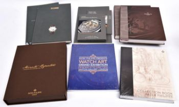 8x Patek Philippe and Lange & Sohne watch catalogues and exhibition catalogues. 5x Patek Philippe;