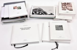 20x IWC and Rolex watch catalogues. Recent editions including; 6x hardback IWC catalogues; 2008,